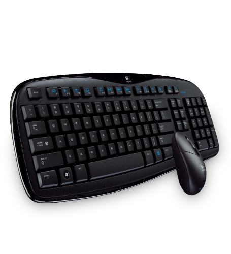 Refurbished logitech ex100 wireless desktop keyboard ex100.