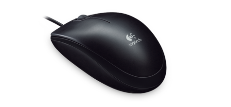 ddc08700698 Buy Logitech B100 USB Optical Mouse Black in Pakistan | Laptab