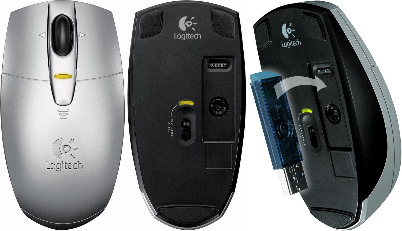 Logitech V200 Cordless Notebook Mouse Drivers