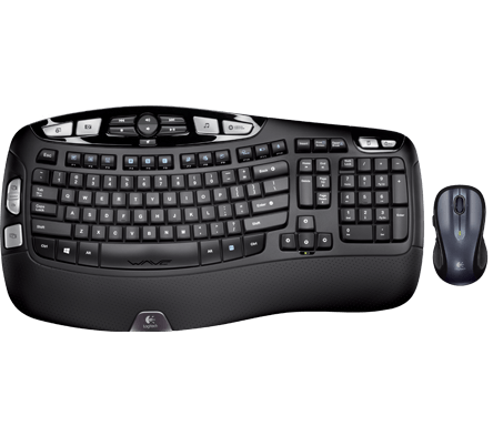 Product Image of Logitech Wireless Wave Combo MK550