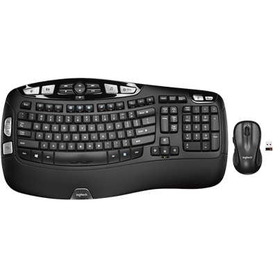 Product Image of Logitech® Wireless Wave Combo MK550