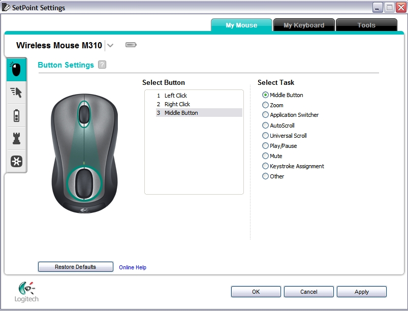 Logitech Bluetooth Mouse M-rcq142 Manual