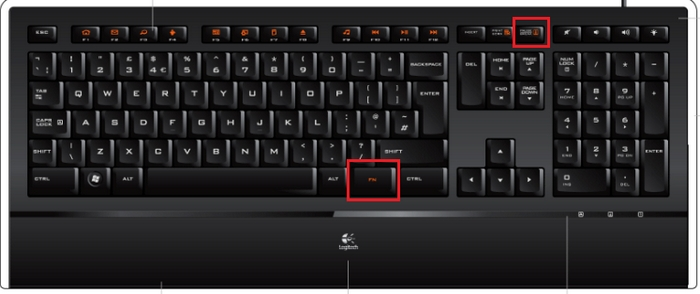 Locating My Illuminated Keyboard Scrolling Lock Key