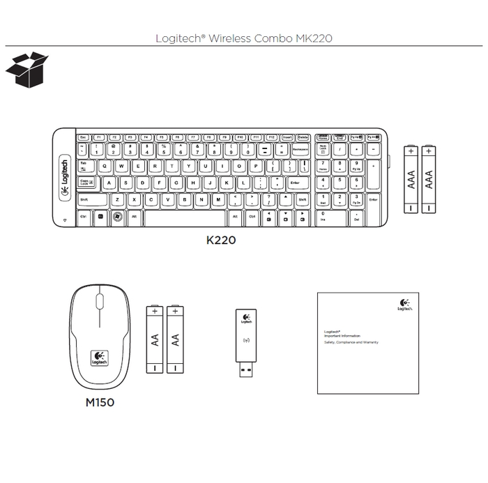 Wireless Combo Mk220 Logitech Support