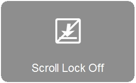 Scroll Lock Off indicator