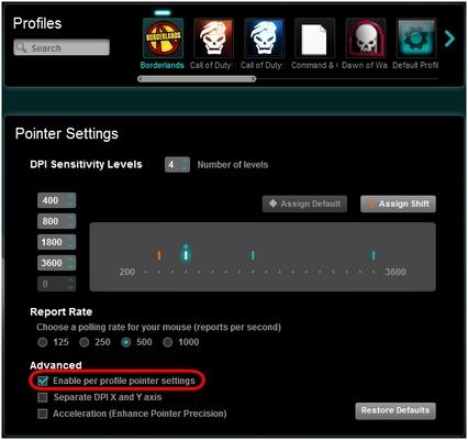 Logitech Gaming Software permet de paramétrer vos périphériques de jeu de façon efficace. Son interface claire vous permet de paramétrer en détail chacun de vos contrôleurs Logitech pour de meilleures performances de jeu.
