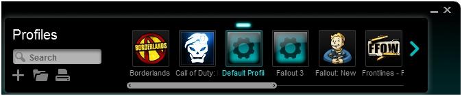 Profiles - Default Profile