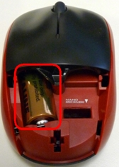 MK330 Mouse Battery