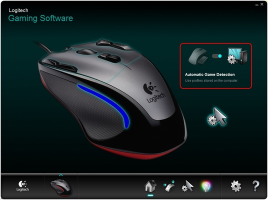 G300 Automatic Game Detection