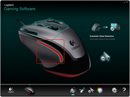 G300 Color Select Mode