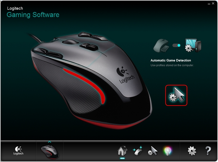 G300 DPI Automatic Game Detection