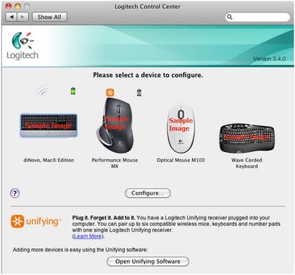 Personnaliser la souris dans LCC