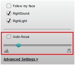 Manually adjusting image focus on the Logitech webcam – Logitech