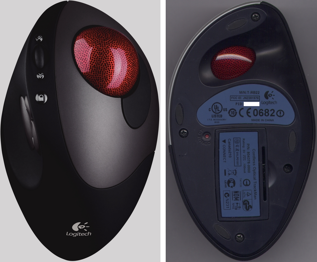 Logitech M-RCF112 Mouse SetPoint XP