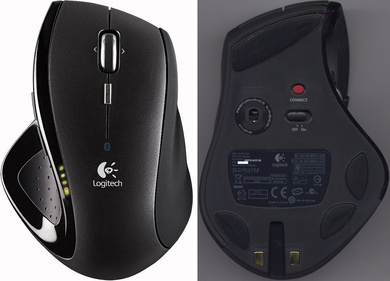 logitech cordless desktop ex110 how to connect