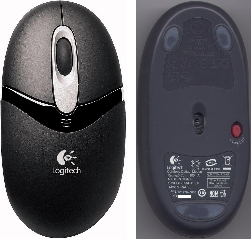 Logitech EX 110 Mouse Descargar Controlador