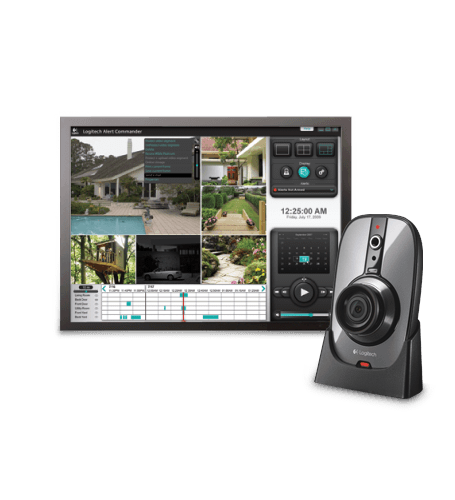Alert™ 750n indoor master system with night vision logitech support.