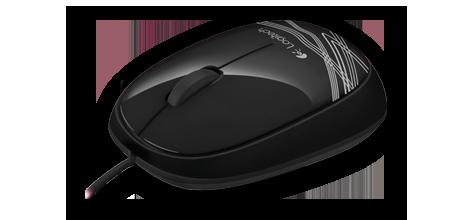 Logitech Mouse M105 Black Main Features