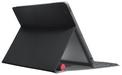 Vue de derrière de l'étui Logitech Solar Keyboard Folio