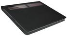 Vue de l'étui Logitech Solar Keyboard Folio ouvert