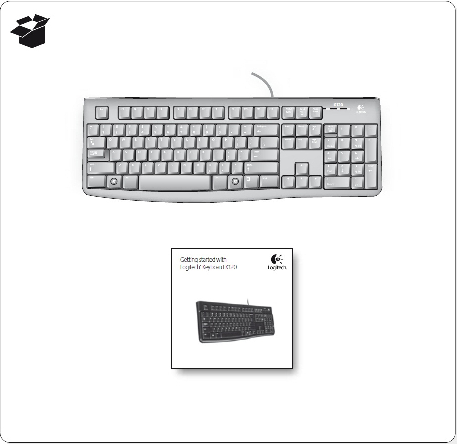 Keyboard K120 Taa Logitech Support Usb What Is In The Box User Documentation