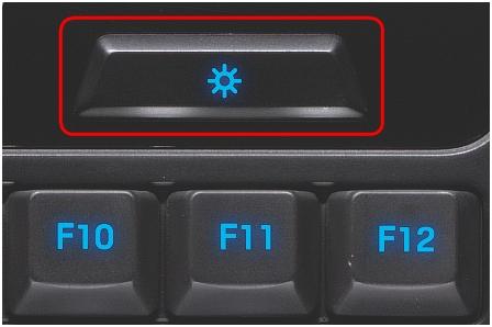 G110 brightness button