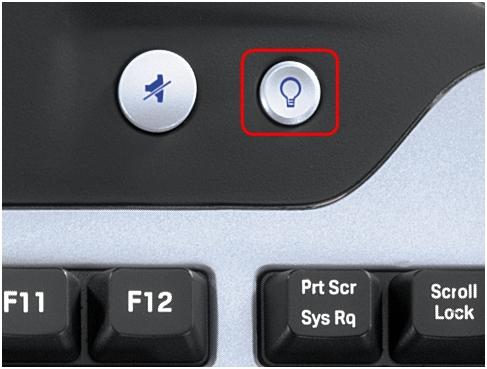 G11 brightness button