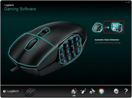 Configuring the G600 gaming mouse buttons