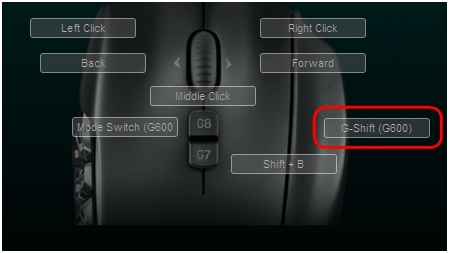 G600 G-Shift Assign