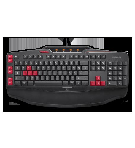 Logitech g103 gaming keyboard for lol cf dedicated programming.