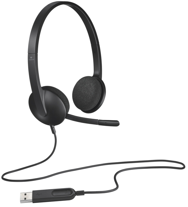 USB Headset H340 - Logitech Support