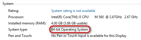 Windows 8 64-Bit-System