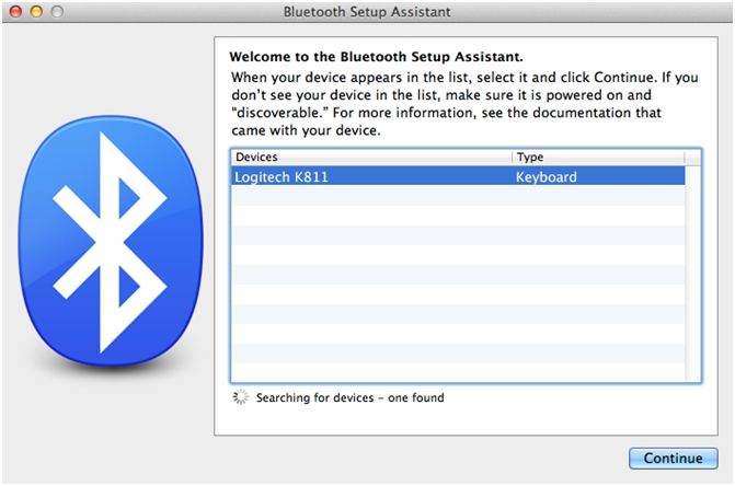 bluetooth keyboard setup for mac