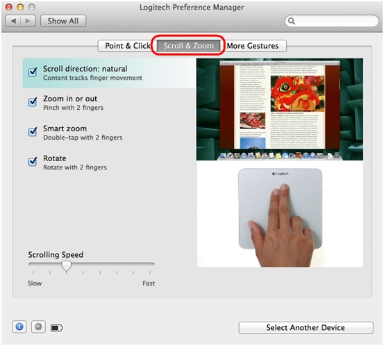 how to change trackpad settings on mac