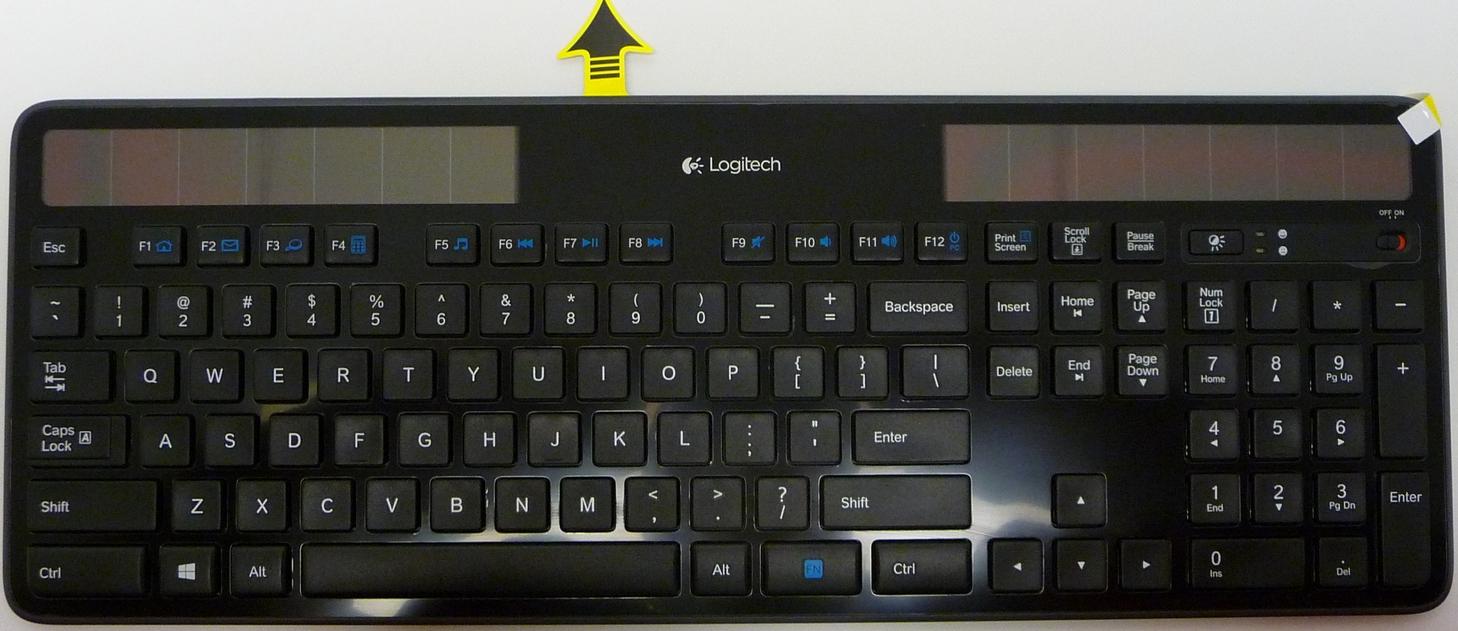 Wireless Solar Keyboard Amp Marathon Mouse Combo Mk750