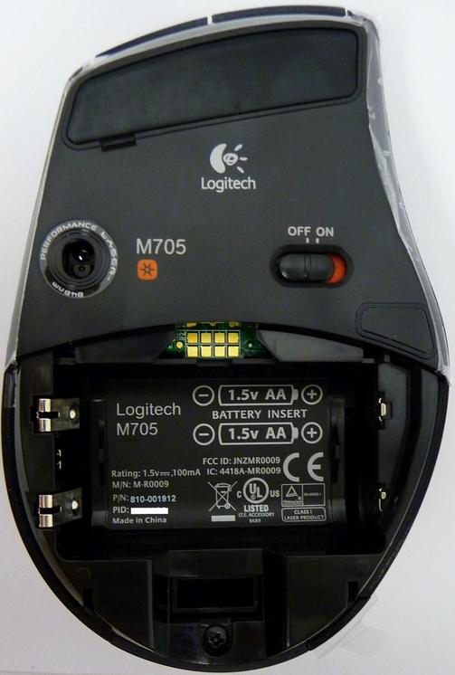 Marathon Mouse M705 Logitech Support