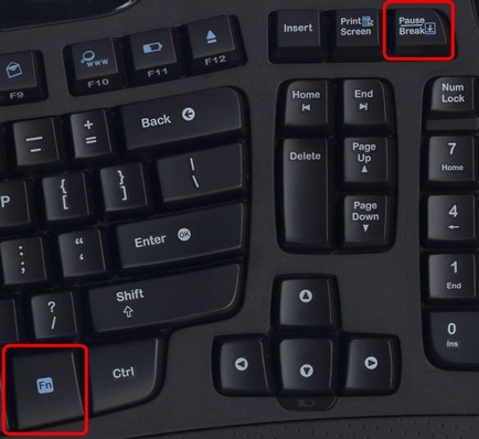 MK560 Scroll Lock Key