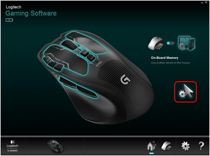 G700s configure On-Board Memory