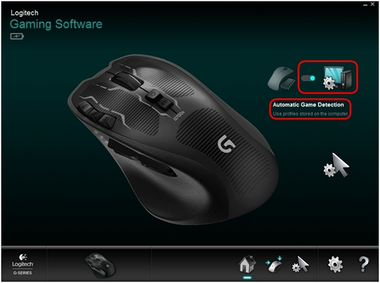 G700s LGS Automatic Game Detection