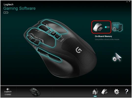 G700s On-Board Memory