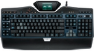 Logitech G19s Gaming Keyboard with wrist rest