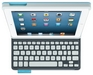 Logitech Keyboard Folio Top View (Blue)