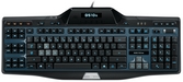 Logitech G510s Gaming Keyboard Top View