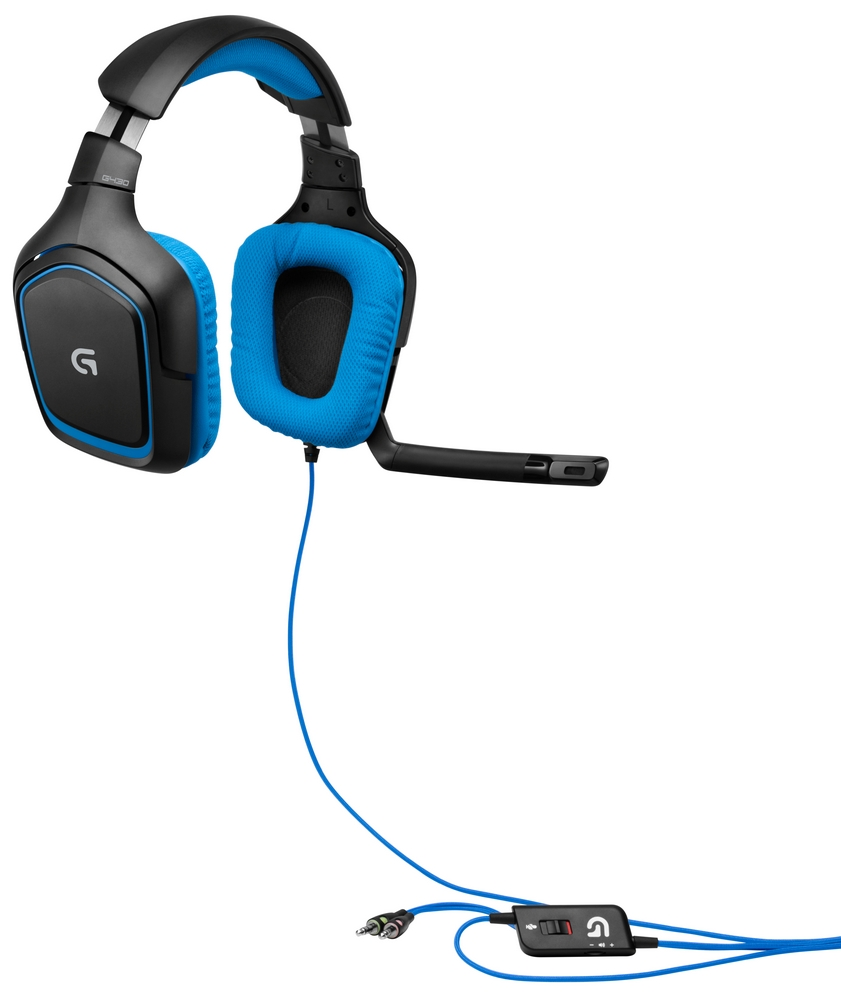 Logitech Headset Wiring Diagram Data Ps3 G430 Schematics Instruction Manual Surround Sound Gaming