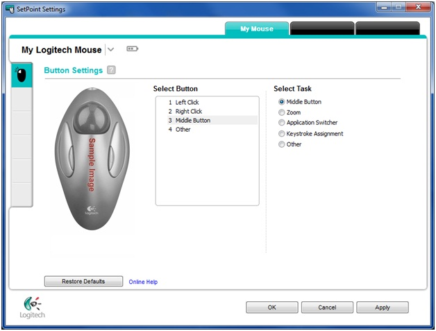 Logitech T-BC21 Mouse SetPoint Windows 8 X64 Driver Download