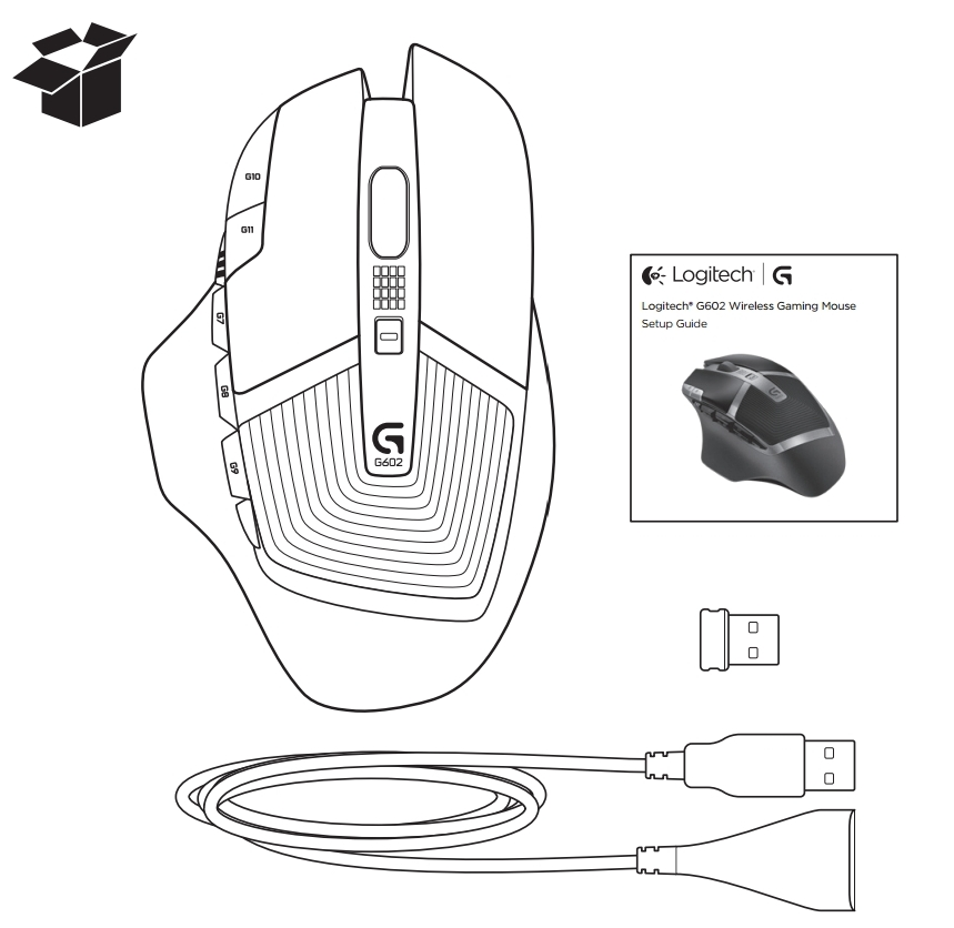 G602 Wireless Gaming Mouse - Logitech Support