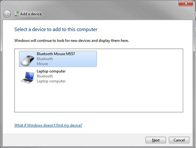 Select Bluetooth Mouse M557
