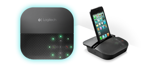 Logitech Mobile Speakerphone P710e turns your iOS device
