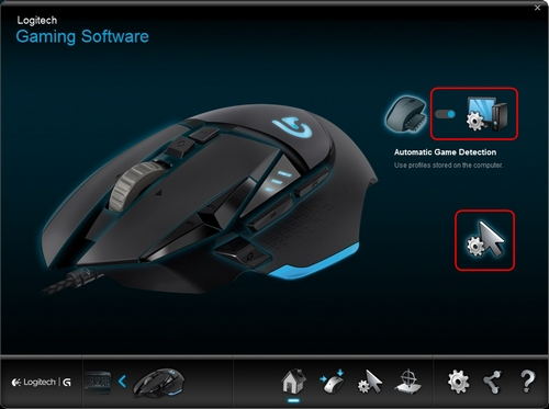 Configure G502 Pointer Settings With Logitech Gaming Software