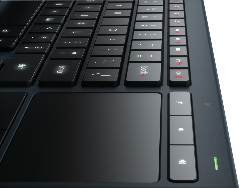 K830 Keyboard Top Right Corner